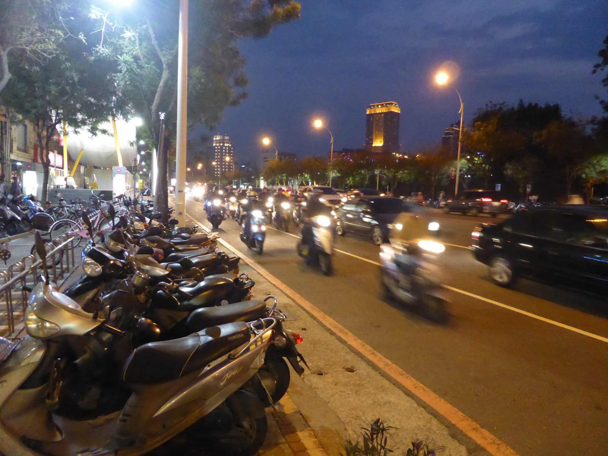 台湾南部、初海外自転車旅行