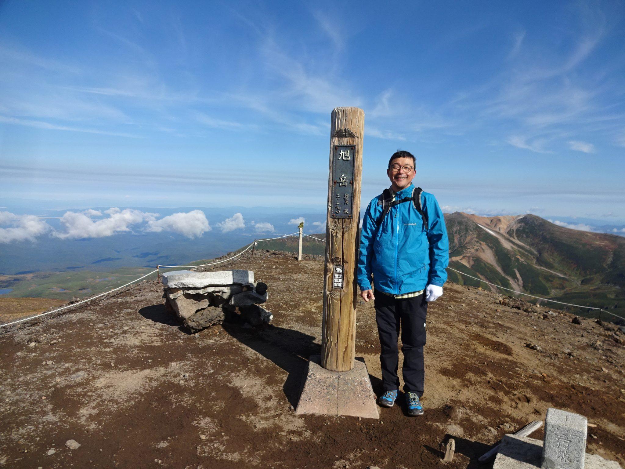 飛行機輪行で北海道、富良野・大雪山へその3