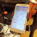 自転車旅行で使ったスマホフォルダー