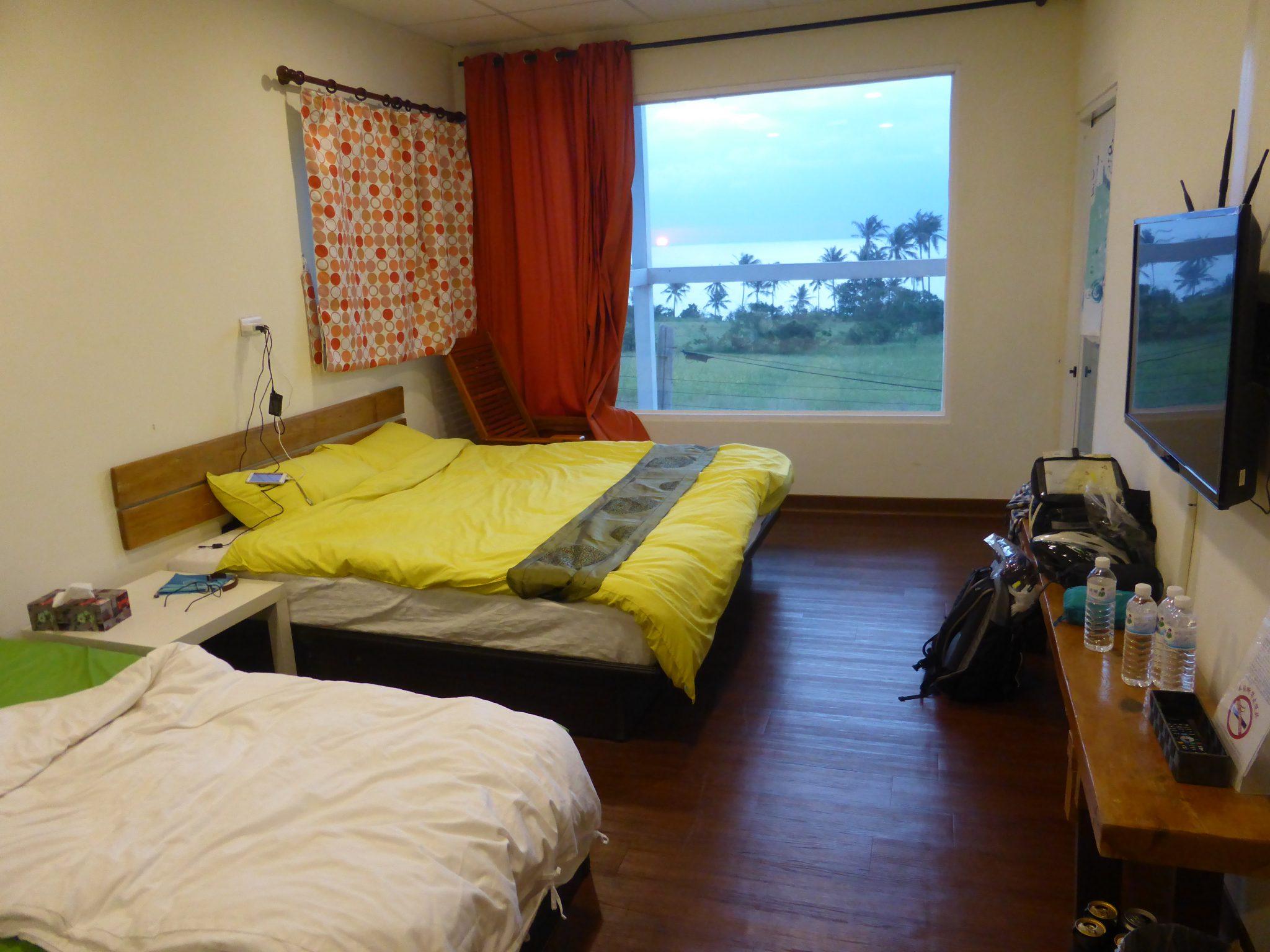 台湾自転車旅行で泊まったホテルと宿泊場所の探し方