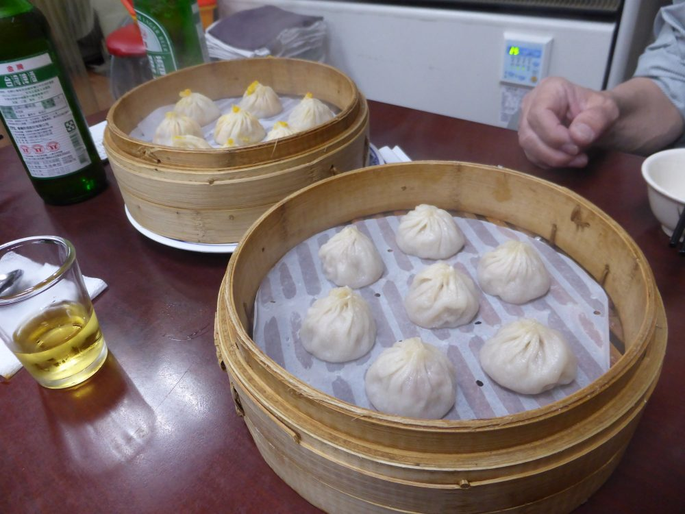 2月台湾海外自転車旅行での食事