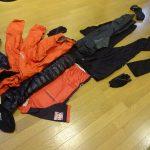 夏と真冬両対応のツーリング&ハイキングウェアー、持ち物を選びました。