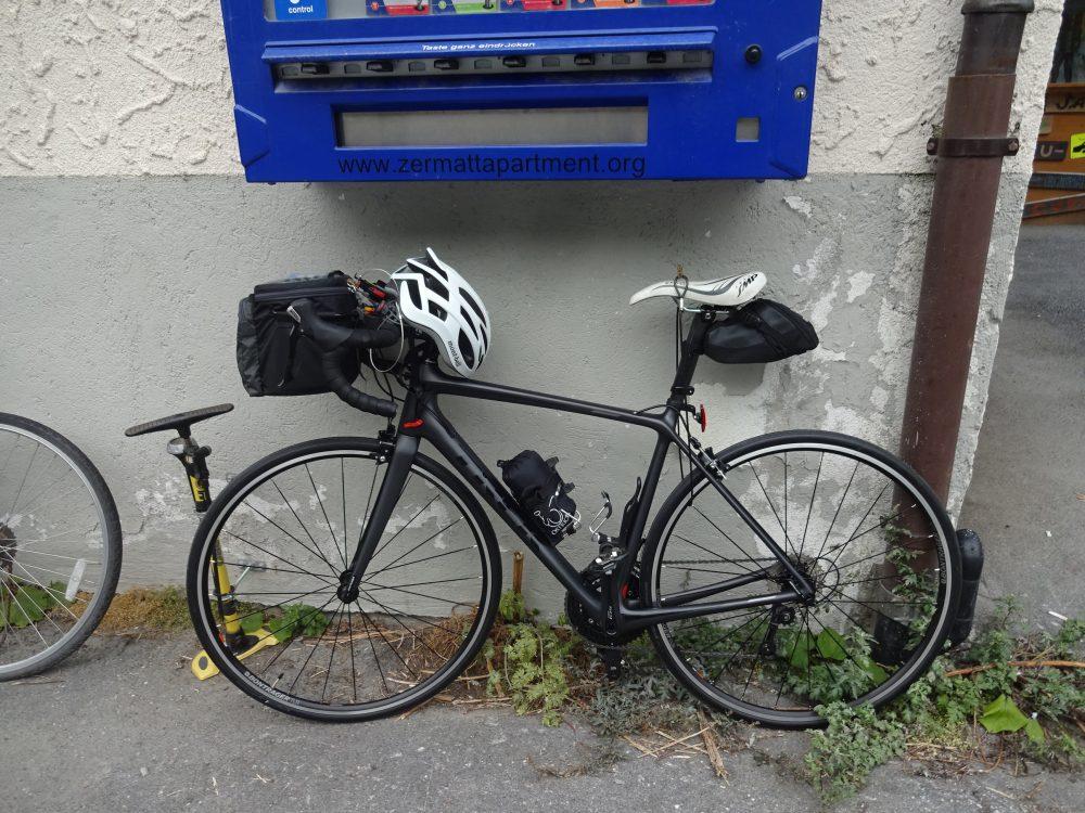 自転車組み立て完成