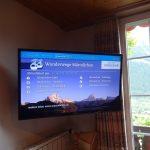 ツェルマットとグリンデルワルドのケーブルテレビ