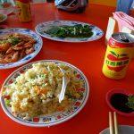 台湾武嶺3275mをミニベロで越える旅2018で食べた食事その2