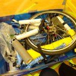 158cmサイズ:ミニベロ(BikeFriday)用輪行箱の作り方その4