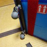 沖縄に向けて輪行箱梱包と輪行箱改良