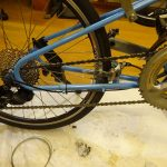さらにギアを軽くしてBikeFridayを山岳サイクリング仕様に改造します。その3