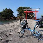九州最南端大隅半島佐多岬と指宿をBikeFridayでめぐる旅2日目その1