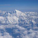 成都―カトマンズ間のフライトはエベレスト他8000m級の山々が見える神フライトでした。ネパール旅2019 2日目