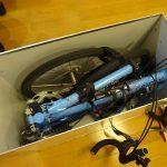 スーツケースのように自転車を運べるハードケース仕様の輪行箱を作りました。その4