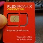 AIRSIMとFLEXIROAM XSと言う全世界で使えるSIMカードを入手してみた