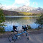 カナダ・カナディアンロッキーをBikeFridayとハイキングで満喫する旅8日目その2