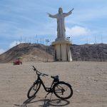 ペルーのリマ市街地はレンタサイクルで走るのがお勧めのようです。初南米旅 3日目