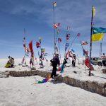ウユニ塩湖周辺観光とサンセットツアーその1  南米旅 5日目