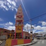 Faro Murilloロープーウェイ駅側にあるボリビア ラパスの町を一望できる展望台Lapaz Con fuerzaが素晴らしかった。