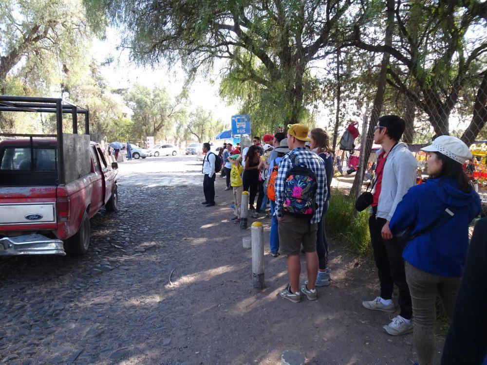 メキシコシティの散策