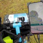 ルートラボの代替方法発見、スマホにルートを読み込んで地図を見ながら自転車で走れます