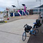 自転車旅、利尻島を後にフェリーにて礼文島へ移動します。