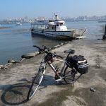 2月に行ったレンタサイクルでの台湾自転車旅行は淡水から渡船で八里へさらに南下