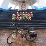 レンタサイクルで嘉義から台南へ、台湾自転車旅行最終日です