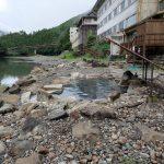クマイチ、熊野街道1周の自転車旅2日目初めての川湯温泉