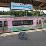 青森、函館自転車旅2日目、野辺地まで輪行