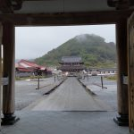 青森、函館自転車旅2日目雨天の中恐山へ